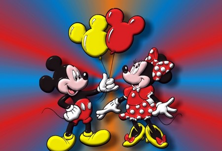 Cartoon Characters Mickey Mouse. Mickey Mouse